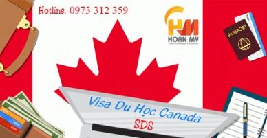 Thủ Tục Visa Du Học Canada SDS  2019